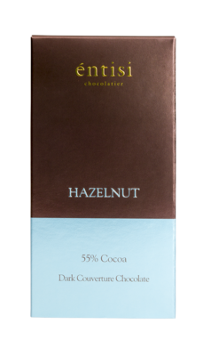 Hazelnut Dark Chocolate Bar