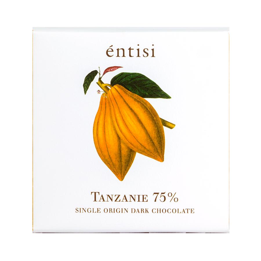 75% Dark Chocolate Bar (Single Origin Tanzania)