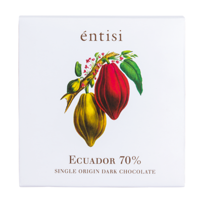 70% Dark Chocolate Bar (Single Origin Ecuador)