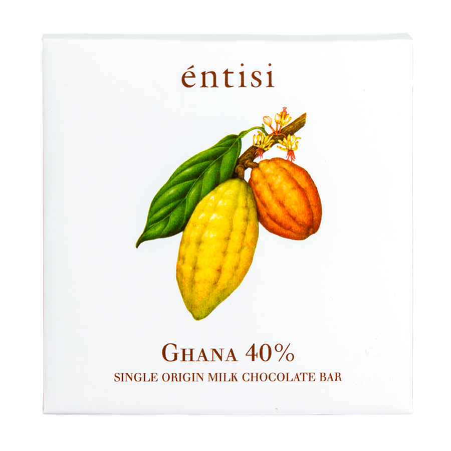 40% Milk Chocolate Bar (Single Origin Ghana)