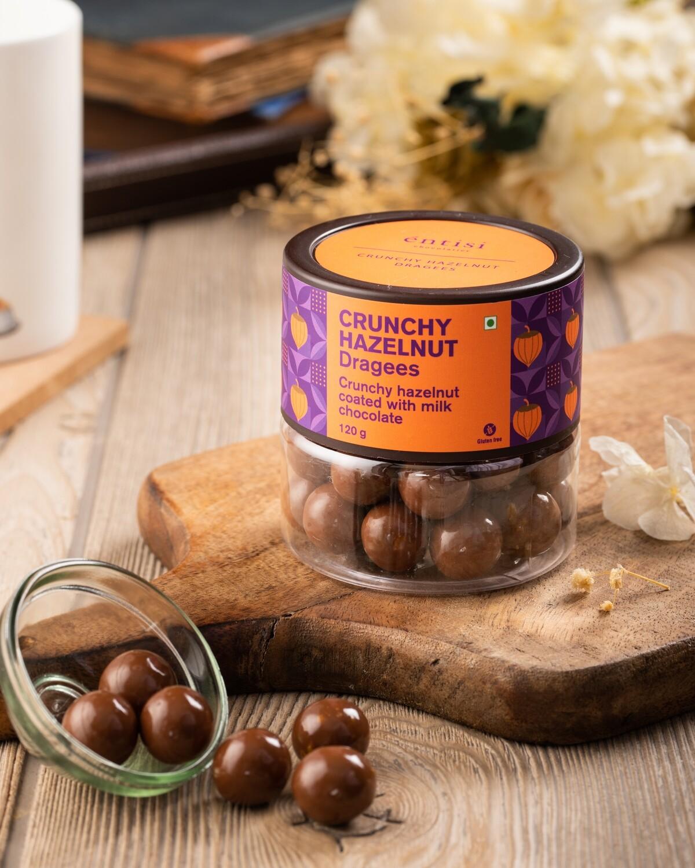 Crunchy Hazelnut Dragees Jar