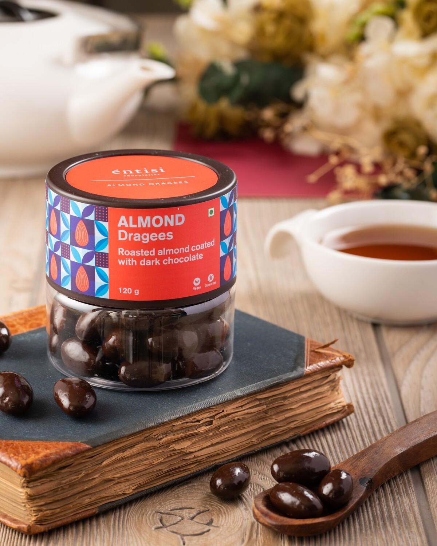 Almond Dragees Jar