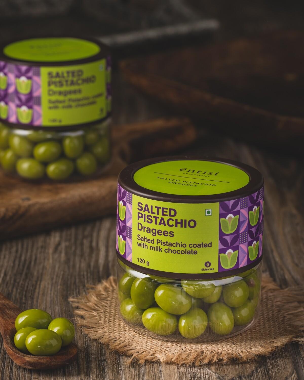 Salted Pistachio Jar
