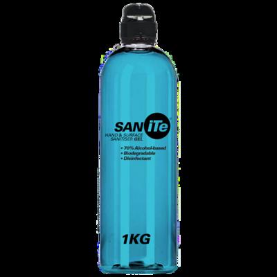 Gel Hand Sanitizer - 1L/875g