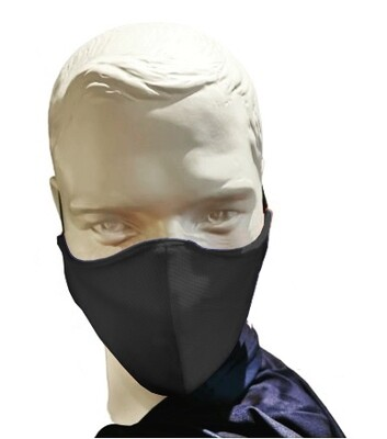 Executive Padded 3 Ply Mask - Moisture Management Fabric