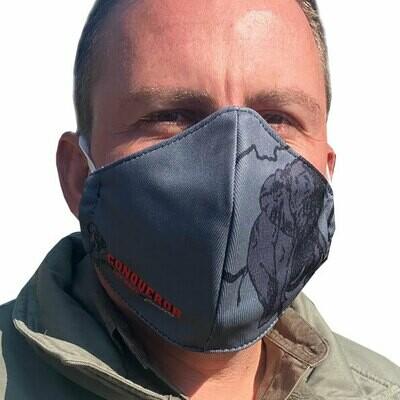 Conqueror Supporter Face Masks