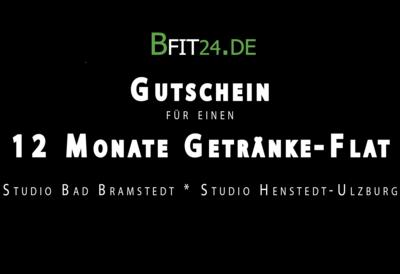 BFit24 Getränkeflat 12 Monate
