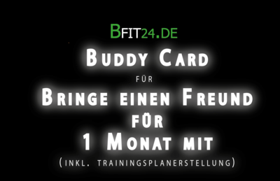 BFit24 Buddycard