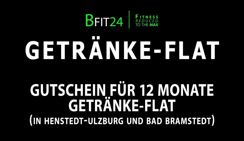 BFit24 12 Monate Getränke-Flat
