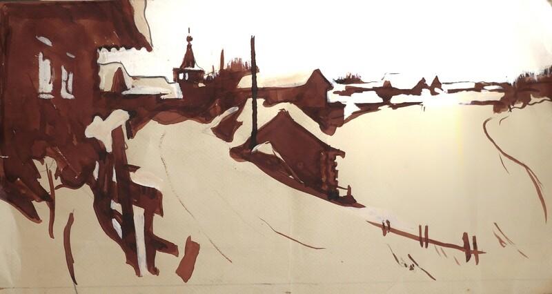 Деревня Ошевенское