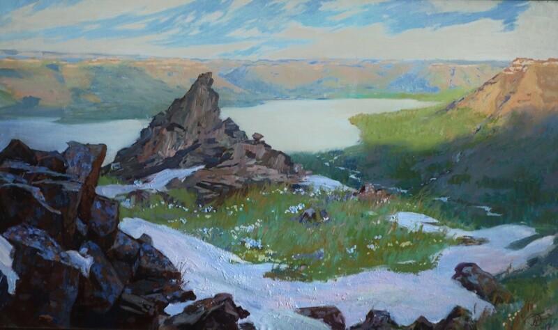 Весна на плато Путорана