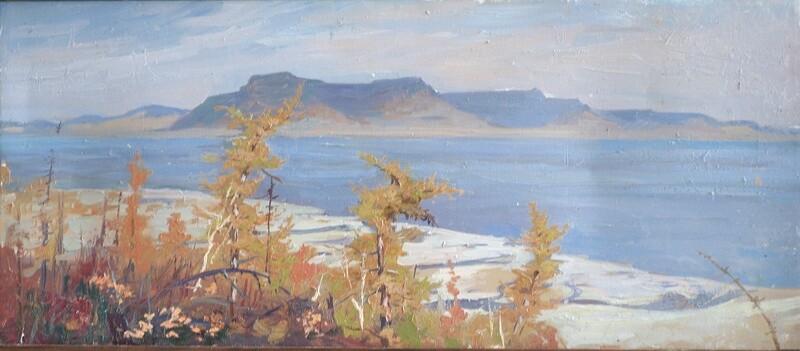 Таймыр. Вид на озеро