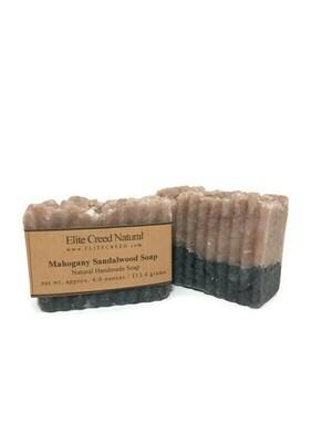 Mahogany Sandalwood Handmade Soap