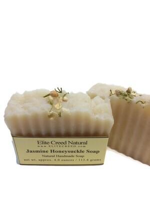 Jasmine Honeysuckle Handmade Soap