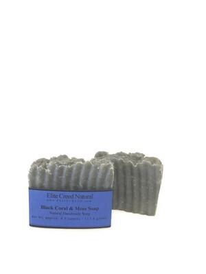 Black Coral Moss Handmade Soap