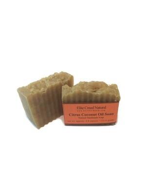 Citrus Coconut Turmeric Soap