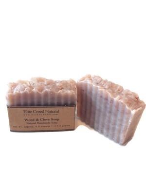 Wood & Clove Handmade Soap