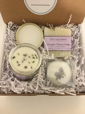 Pamper Lavender Flower Gift Set
