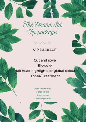 New Client VIP Card