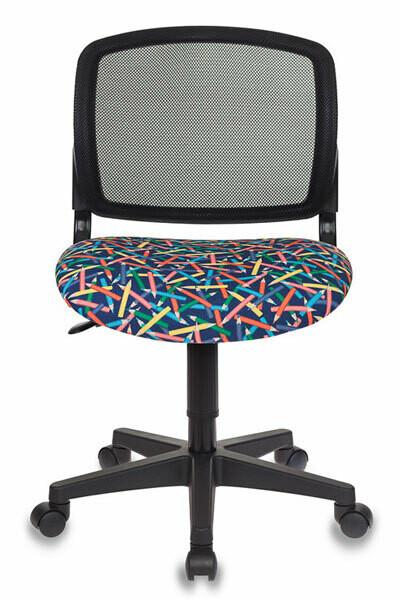 Кресло детское Бюрократ CH-296/PENCIL-BL