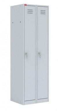 Модульный металлический шкаф для одежды ШРМ - 22М