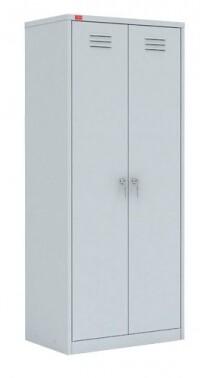 Двухсекционный металлический шкаф ШРМ - 22У