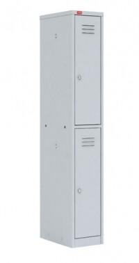 Односекционный металлический шкаф для одежды ШРМ - 12