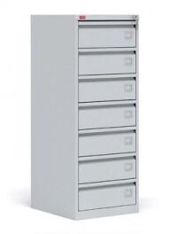 Картотечный металлический шкаф для хранения документов КР - 7
