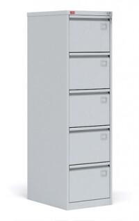 Картотечный металлический шкаф для хранения документов КР - 5