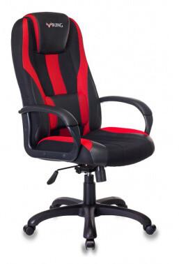 Кресло игровое Бюрократ VIKING-9 черный/красный