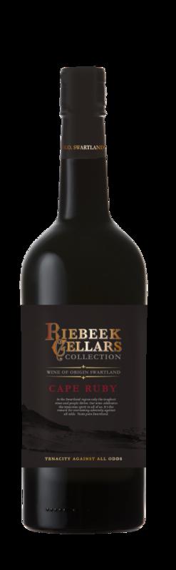 Cape Ruby Port-Style Wine - Riebeek Cellars (750 ml x 6)