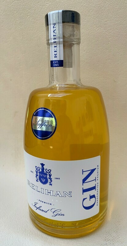 Relihan Saffron Infused Gin (500 ml) x 1