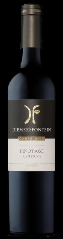 Diemersfontein Carpe Diem Pinotage Reserve 2017  (750ml) x 6