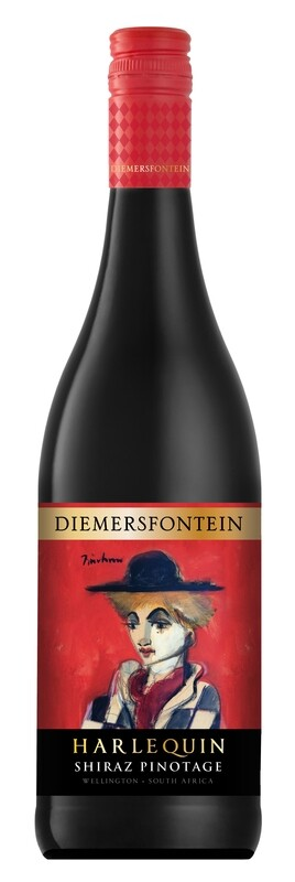Diemersfontein 'Harlequin' Shiraz/Pinotage 2018 (750 ml) x 6
