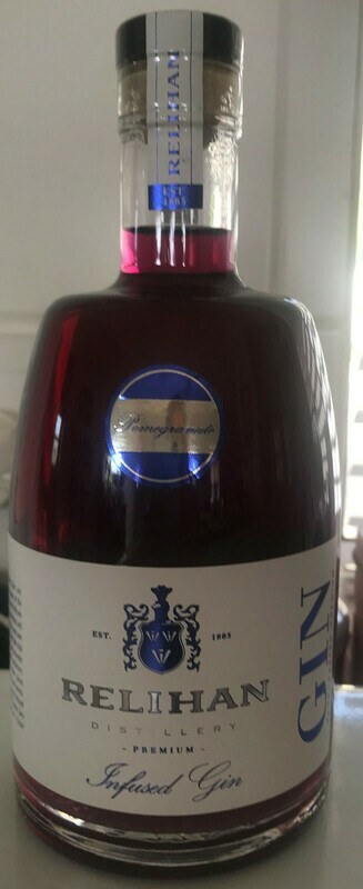 Relihan Pomegranate Infused Gin (500 ml) x 1