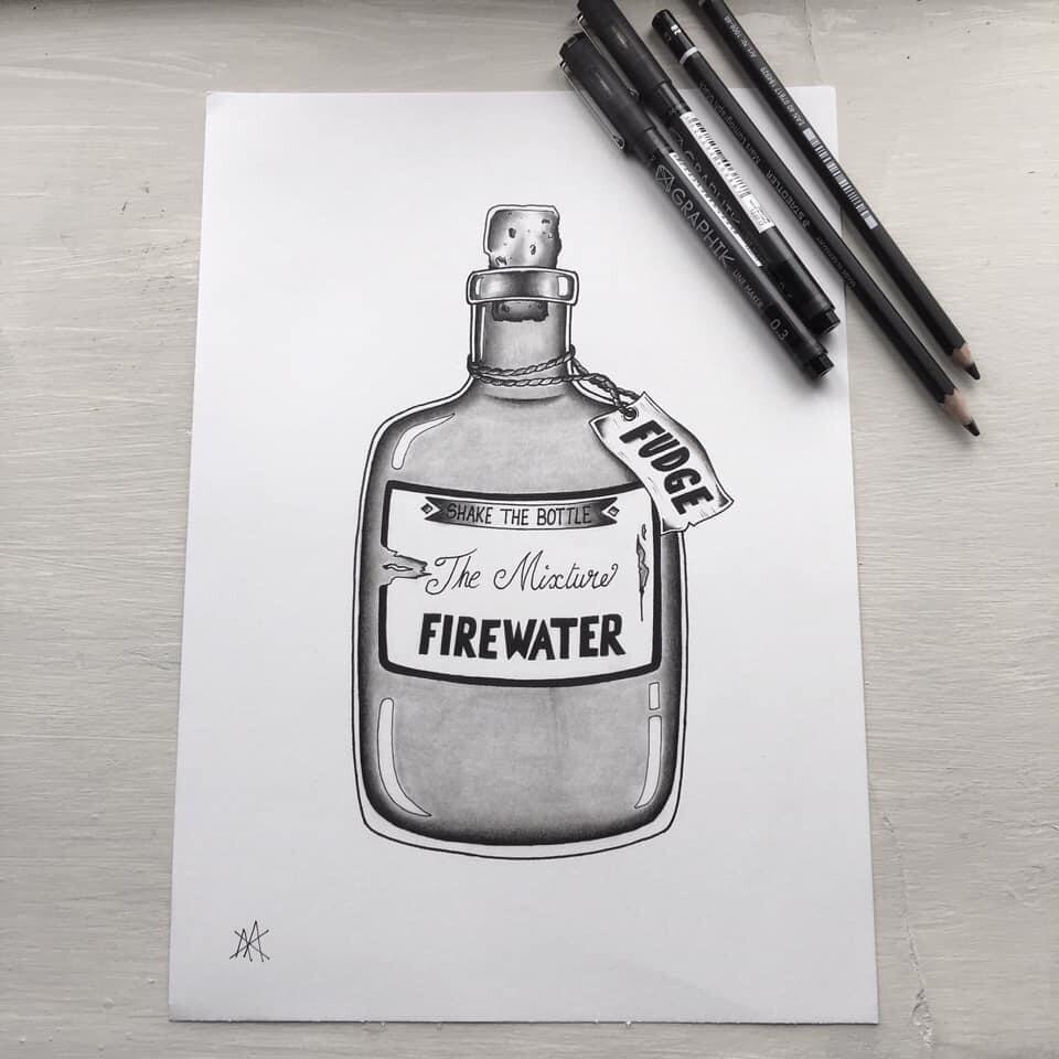 Fudges Firewater