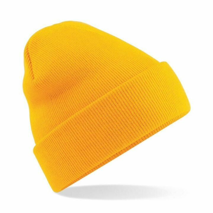 DarkBear Yellow Beanie