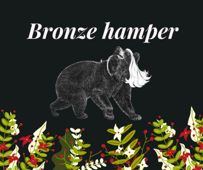 Bronze Bear hamper