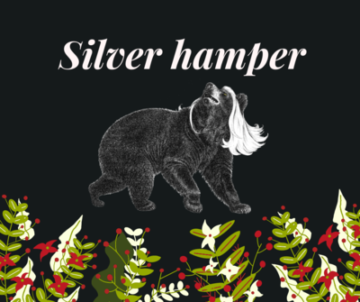Silver Bear hamper