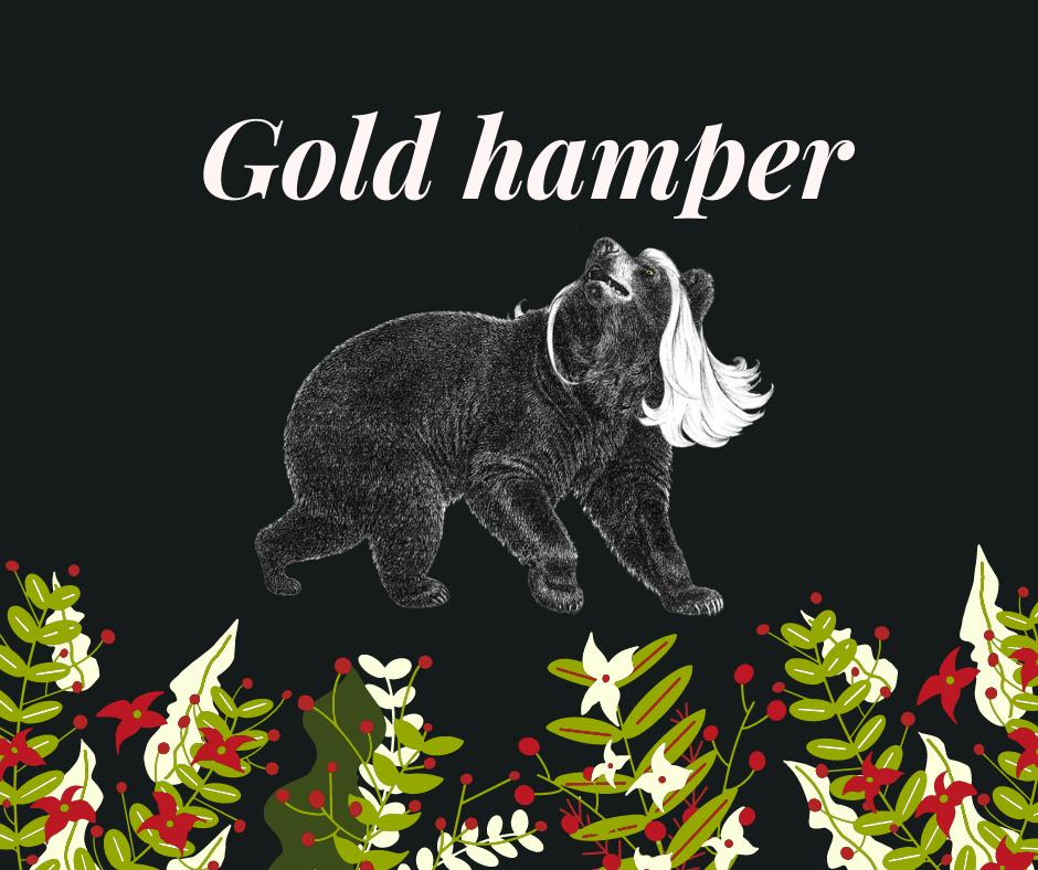 Gold Bear Hamper