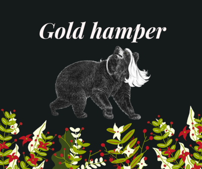 Gold Bear Hamper