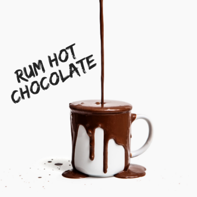 Rum hot chocolate