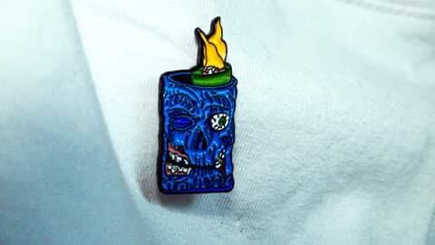 Zombie Pin Badge