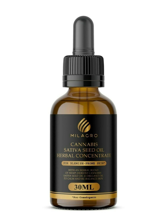 Hemp/Cannabis Sativa Seed Face Oil 30ml