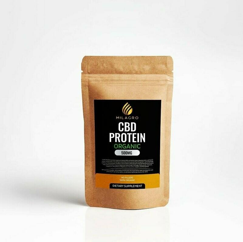 Hemp Protein Powder 500mg