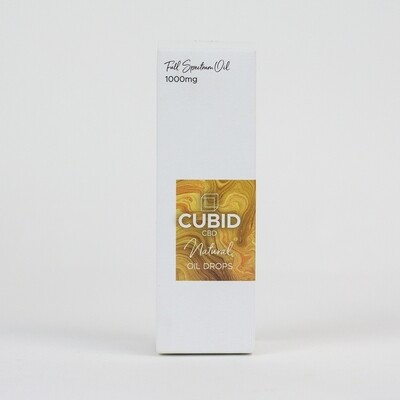 CUBID Cbd Oral Oil Drops 1000mg Natural 30ml