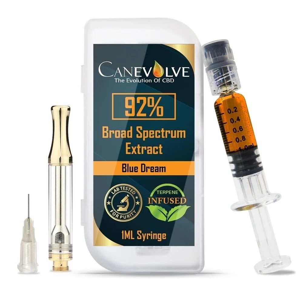 CANEVOLVE CBD BROAD SPECTRUM EXTRACT 92% Blue Dream