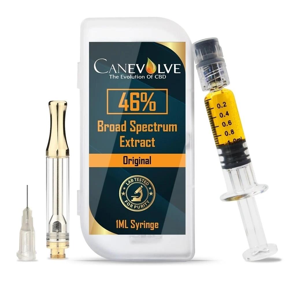 CANEVOLVE CBD 46% BROAD SPECTRUM EXTRACT- Original flavour