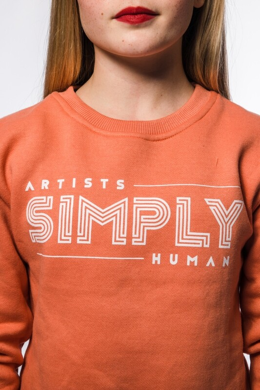Cropped Coral Dance Sweat