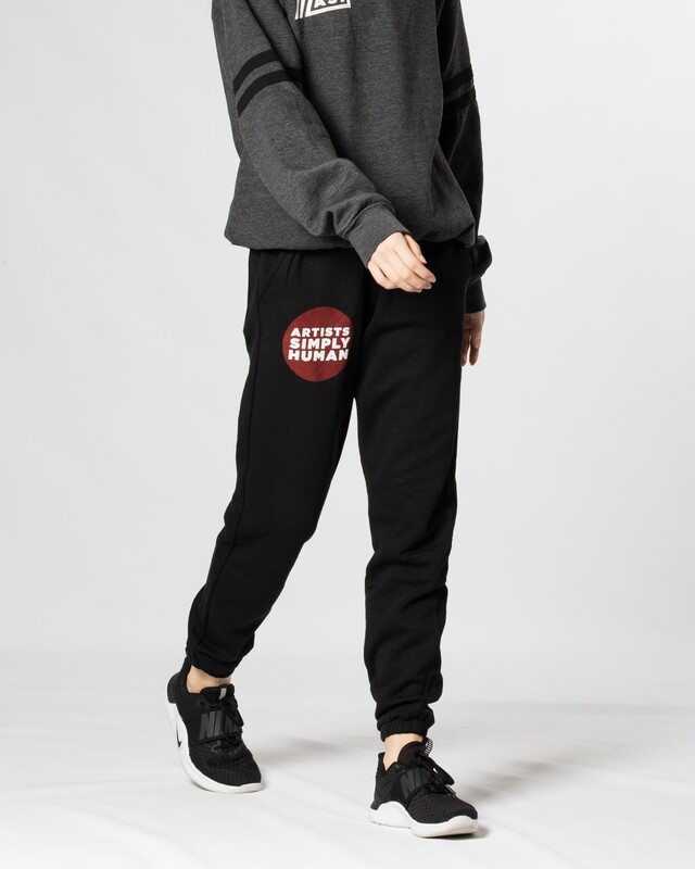 Red and Black Classic Joggers